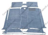 Ford Pop 100e 2 door 1959 to 1962 Carpet Set - Wessex Wool Range